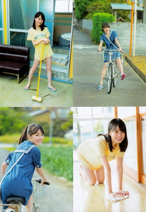 生田絵梨花ちゃんが天使のような可愛さだと再確認する画像