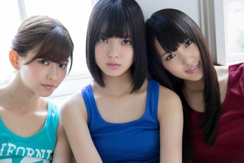 平手友梨奈中学生でここまで乳がデカいなんて育ちがええな!