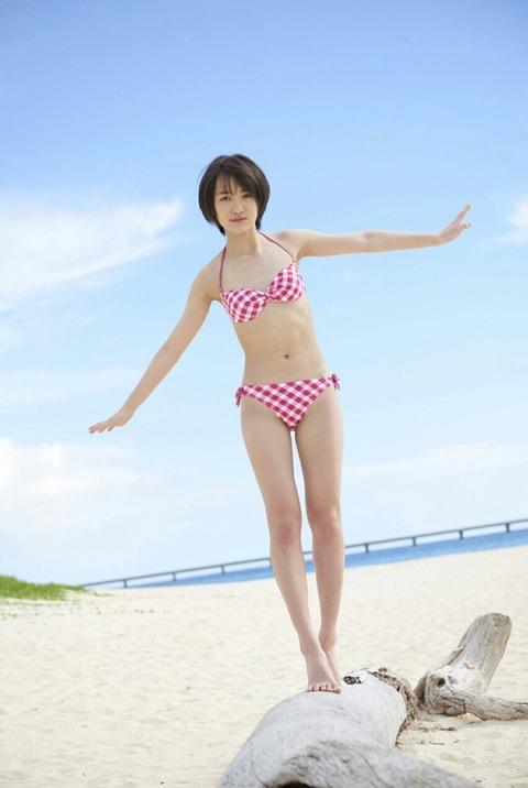 工藤遥ちゃんの抜ける水着画像