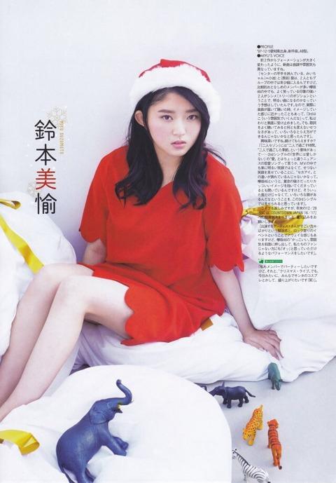 欅坂サンタコスが可愛すぎwwww